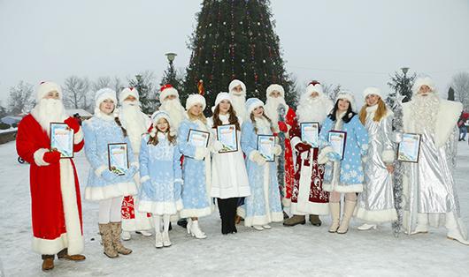 В Мозыре прошла «Ярмарка Дедов Морозов»!