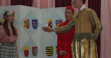В СШ№11 г.Мозыря прошел конкурс театрализованных постановок на иностранных языках «Аркад»