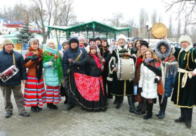 Масленица-2017: как в Мозыре весну встречали, зиму провожали