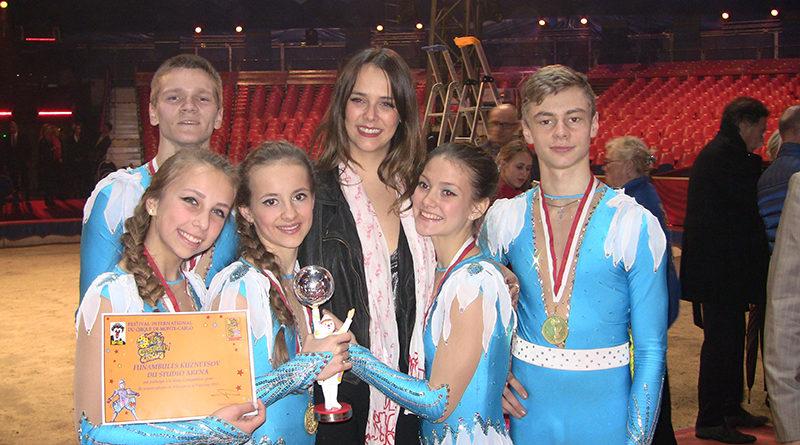 Браво, мозырской студии циркового искусства «Арена»