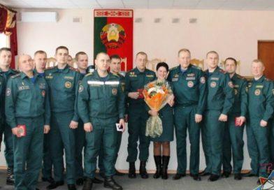 Мозырские спасатели получили награды