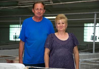 Трудовые династии совхоза-комбината «Заря»: Наталья и Александр Высоцкие