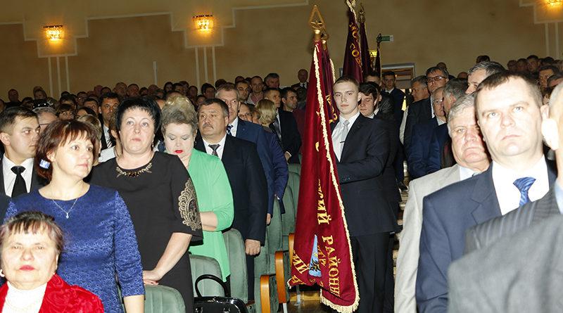 В мозырском ГДК чествовали победителей районного  соревнования по итогам работы за 2016 год