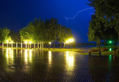 В Мозыре выпало рекордное количество осадков