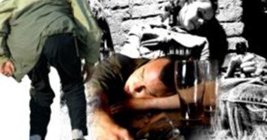 По данным Мозырского РОВД, с начала года каждое третье хулиганство совершено в состоянии алкогольного опьянения