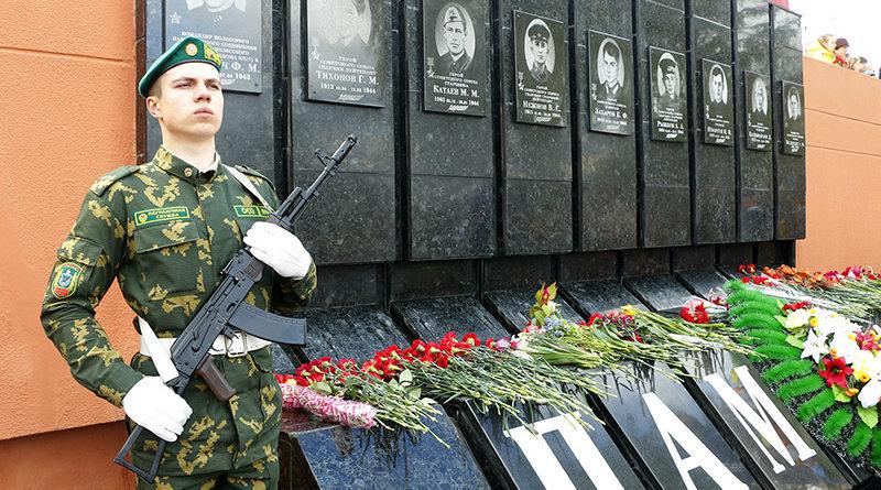 Мозырь отметил 72-ю годовщину Великой Победы