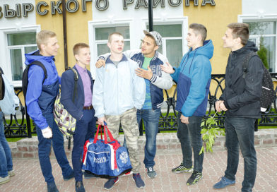 Призыв-2017: началась отправка мозырских новобранцев на срочную службу