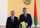 Дырэктар ААТ «Беларускабель» Дзмітрый Ракаўчук атрымаў дзяржаўную ўзнагароду