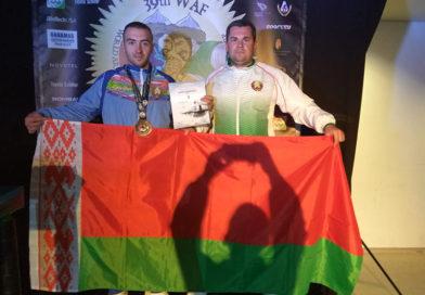 Мозырянин Иван Веренич стал призером чемпионата мира по армрестлингу
