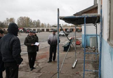 Очередной рейд мобильной группы Мозырского райисполкома по мониторингу состояния охраны труда, пожарной безопасности, санитарии