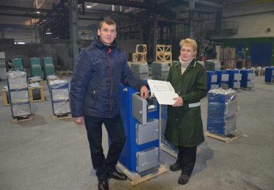 Служба технического контроля ОАО «Мозырьсельмаш»: срок гарантийной эксплуатации бытовых котлов увеличен до 60 месяцев