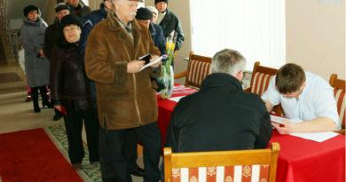 В Мозыре состоялось досрочное голосование на выборах Президента России
