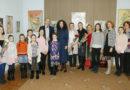 В музее народной культуры Мозырщины «Палеская веда» открылась выставка «За открытыми дверями» художника Александра Мастича