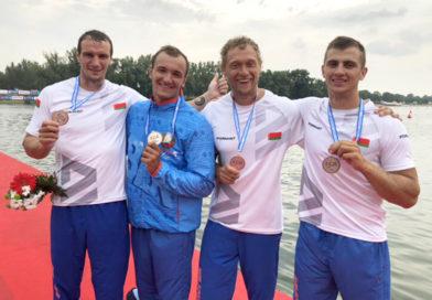 На чемпионате Европы по гребле на байдарках и каноэ белорусы завоевали 9 наград — 5 из них мозырские спортсмены