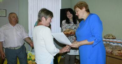 В Мозырском райисполкоме чествовали лучших животноводов Мозырщины