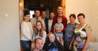 Мозырянку Елену Васильевну Никитенко поздравили со 100-летним юбилеем