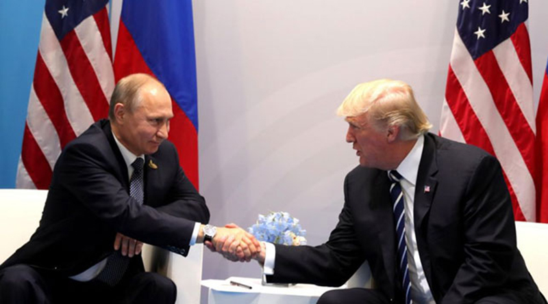 Путин и Трамп начали переговоры в Хельсинки
