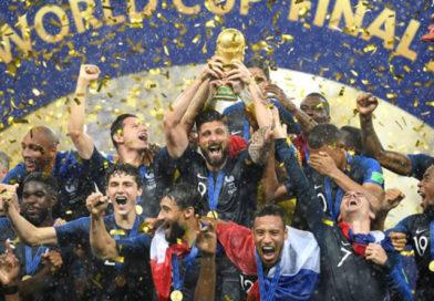 Сборная Франции стала чемпионом мира по футболу после 20-летнего перерыва
