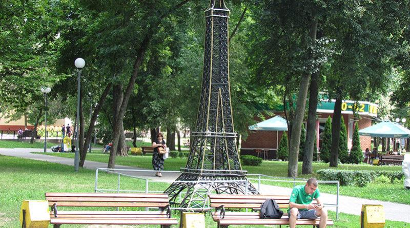 Парк копий известных архитектурных сооружений мира радует жителей Гомеля и туристов