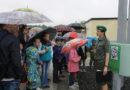 Дети работников Мозырского подземного хранилища газа побывали с экскурсией в Мозырском погранотряде