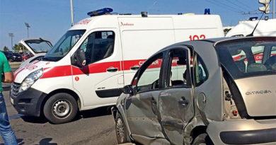 В Гродно при ДТП мальчика выбросило через окно авто