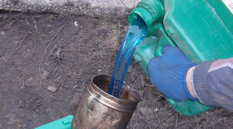 Житель Мозырского района попался на перевозке крашенного дизтоплива