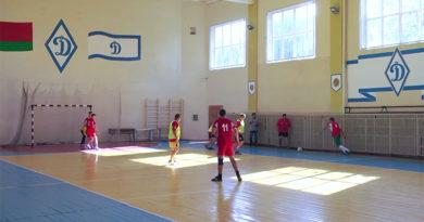 В Мозыре состоялся чемпионат Мозырской ГО БФСО «Динамо» по мини-футболу