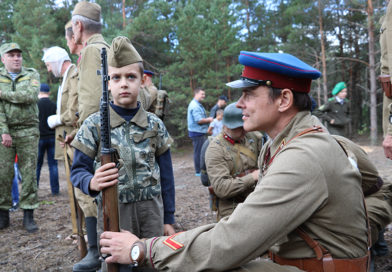 Мозыряне приняли активное участие в военно-исторической реконструкции событий августа 1941 года