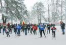 В лесопарке «Молодежный» прошли районные соревнования «Мозырская лыжня-2019»