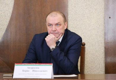 Борис Николаевич Андросюк: «Приятно видеть вашу работу. Все решается на местах»