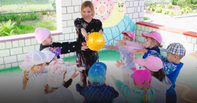 Один день воспитателя в детском саду