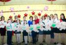 Чествование победителей республиканской и областной олимпиады в мозырской школе №16