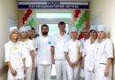 Открытие отделения рентгено-эндоваскулярной хирургии в Мозыре