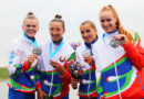 Две серебряные медали у белорусской байдарки-четверки