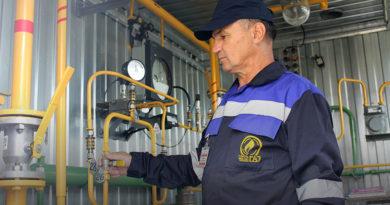 Газ – дело серьезное. Виктор Калиниченко один из тех, кто обеспечивает мозырянам бесперебойную подачу голубого топлива