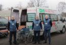 В Мозыре появилась компания «Забота», которая занимается транспортировкой и доставкой на этаж тяжелых больных