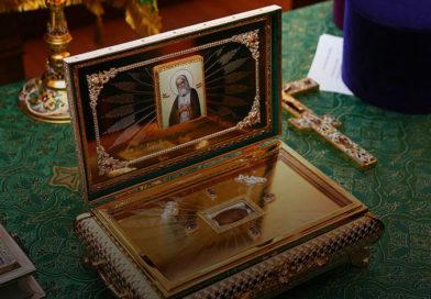 В Мозырский Свято-Михайловский собор 25 января прибудет ковчег с мощами преподобного Серафима Саровского