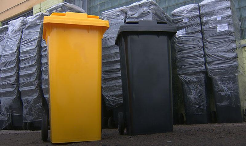 Мозырским домовладельцам бесплатно предоставляют контейнеры для сбора  отходов и вторсырья — Жыццё Палесся. Мозырь