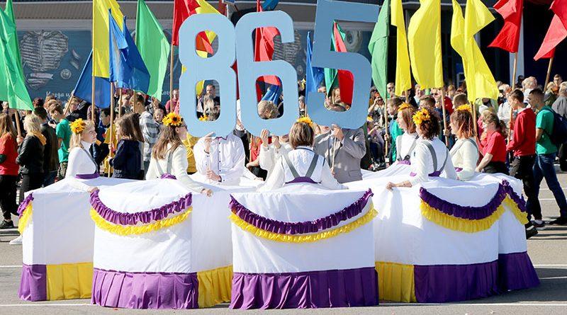 Мозырь празднует 865-летие. Фоторепортаж Сергея Боровика