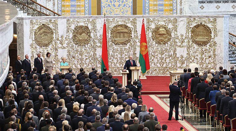 Инаугурация Президента Республики Беларусь Александра Лукашенко   Обновлено