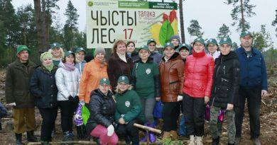 Республиканской акции «Чистый лес» в Боковском лесничестве