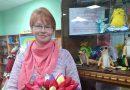 Персональная выставка мягких игрушек Снежаны Галицко в мозырской библиотеке №7