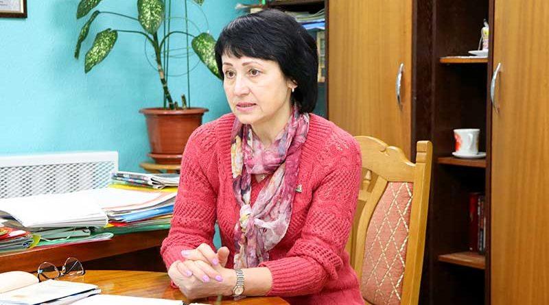 Валентина Алексеевна Назаренко встретилась с трудовым коллективом редакции газеты «Жыццё Палесся»