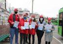 Активисты Мозырской и Калинковичской РО БРСМ переняли эстафету проекта «Маршрут здоровья»