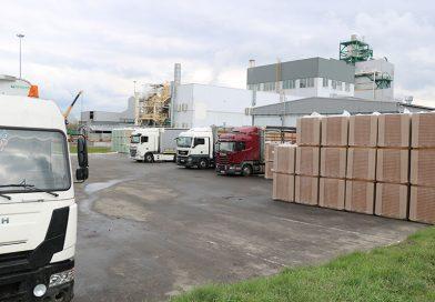 Мозырский ДОК увеличил экспорт изоляционных плит из древесного волокна