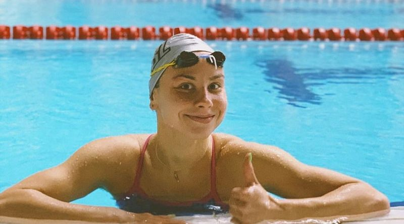 Ещё одна лицензия. Алина Змушко выполнила олимпийский норматив на открытом чемпионате России по плаванию