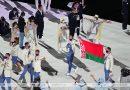 Белорусские спортсмены приняли участие в церемонии открытия Игр в Токио