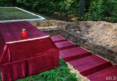 Останки 379 бойцов Красной армии перезахоронили в Светлогорском районе